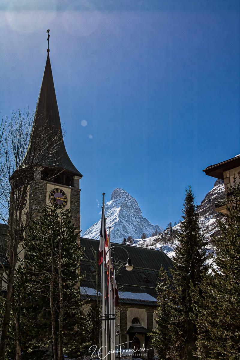 Kirche in Zermatt