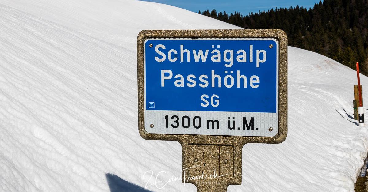 Schwägeralp Pass Winter