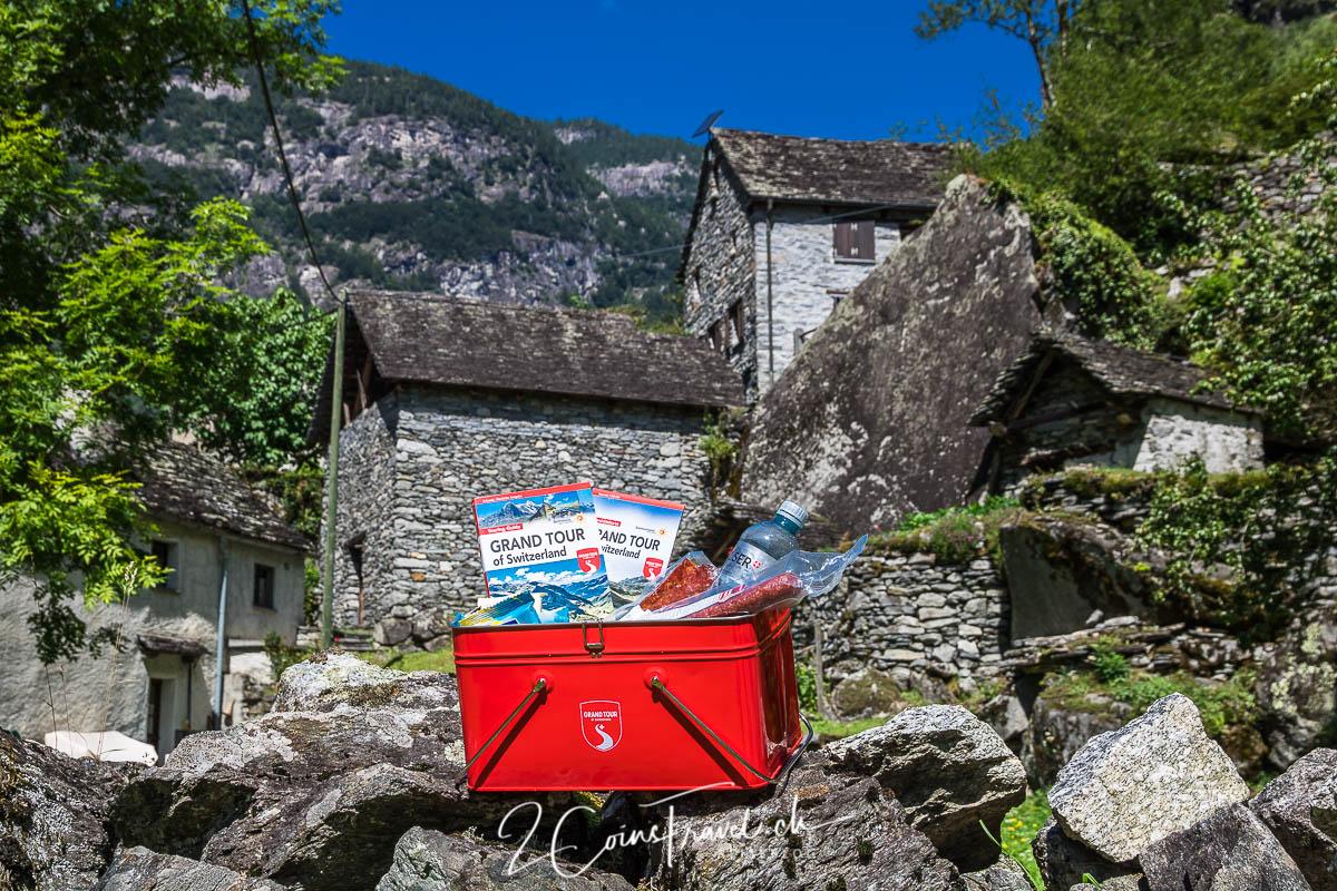 Grand Tour of Switzerland Snackbox