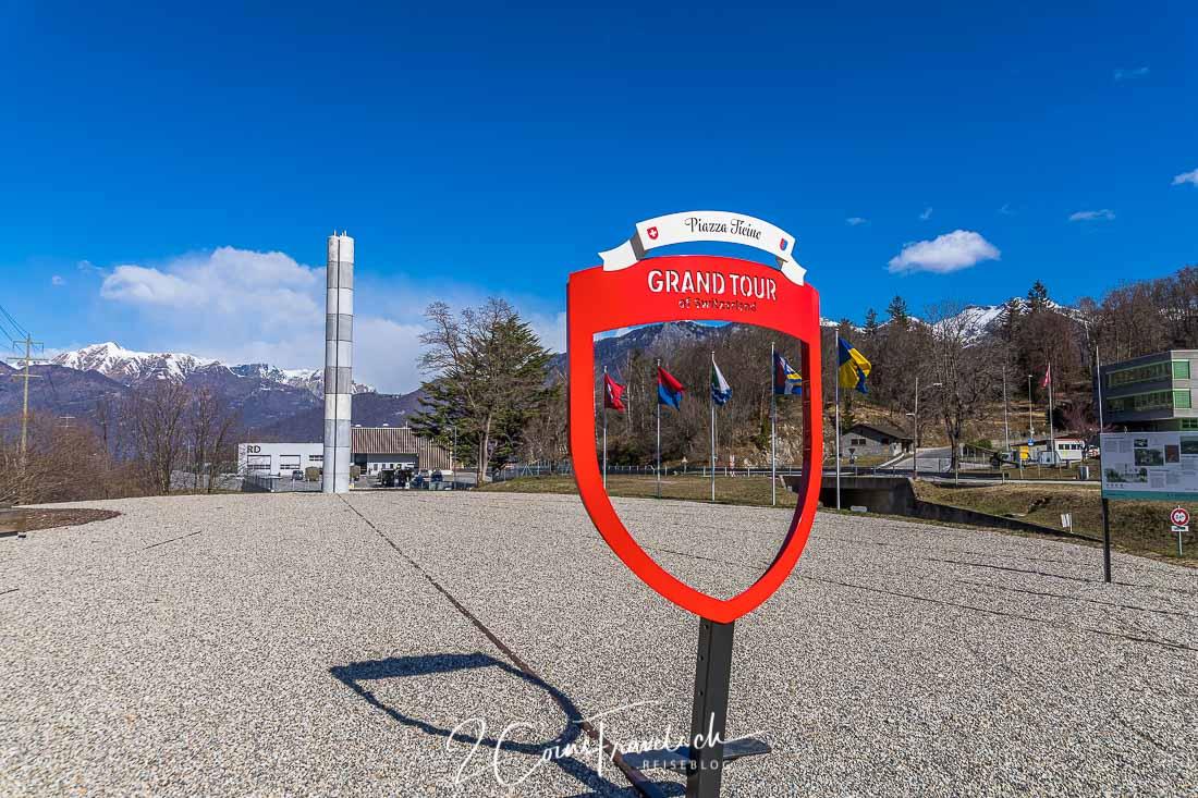 Grand Tour Foto Spot Piazza Ticino