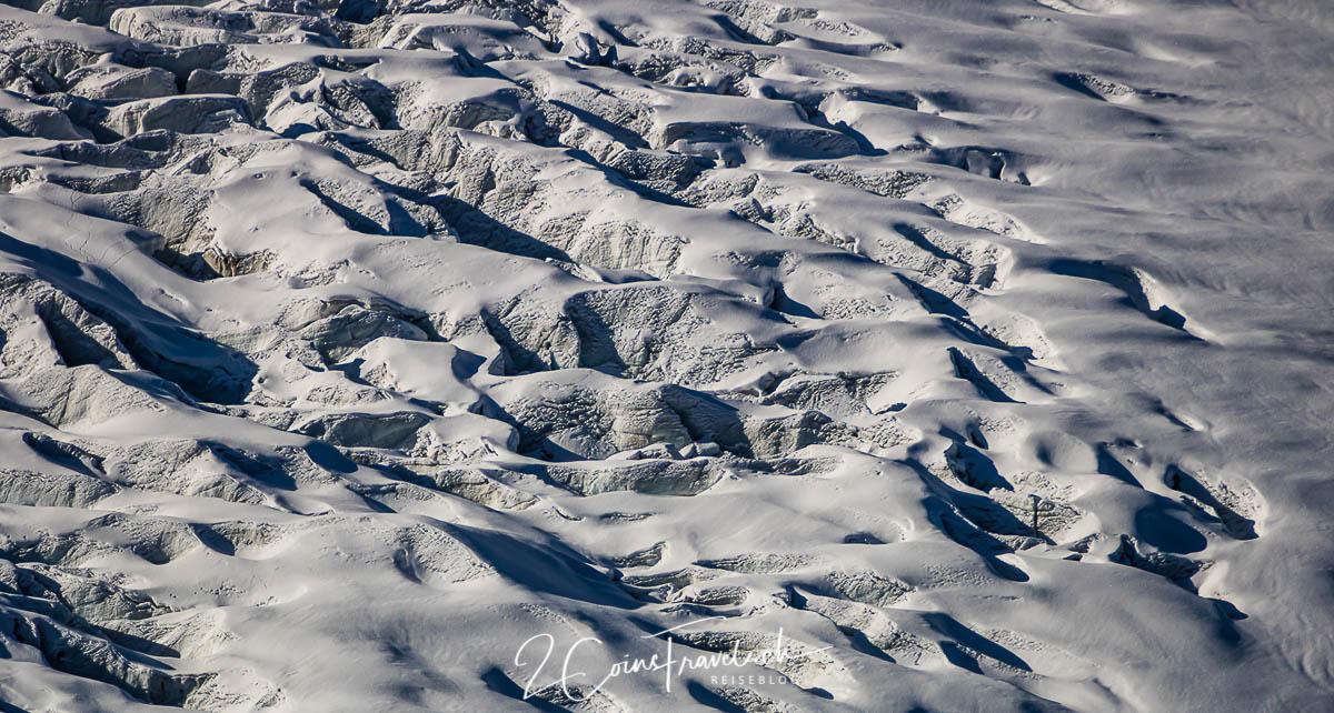 Gletscherspalten Persgletscher