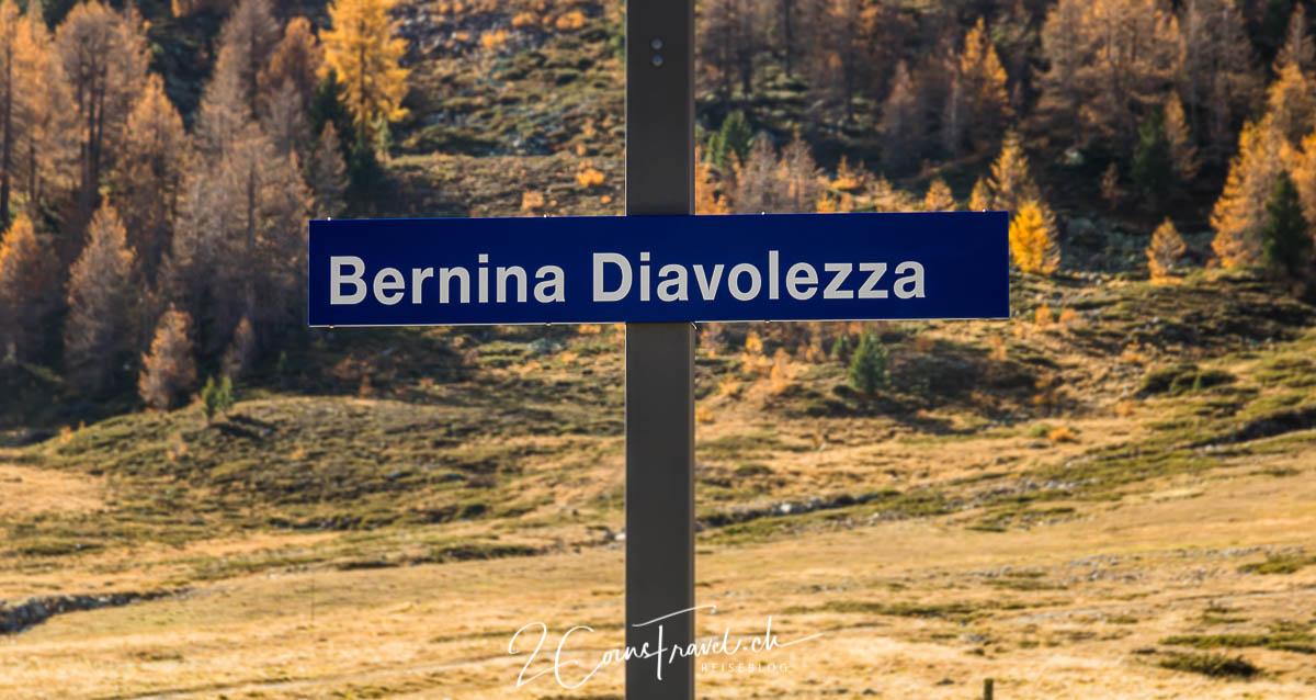 Bernina Diavolezza Bahnstation