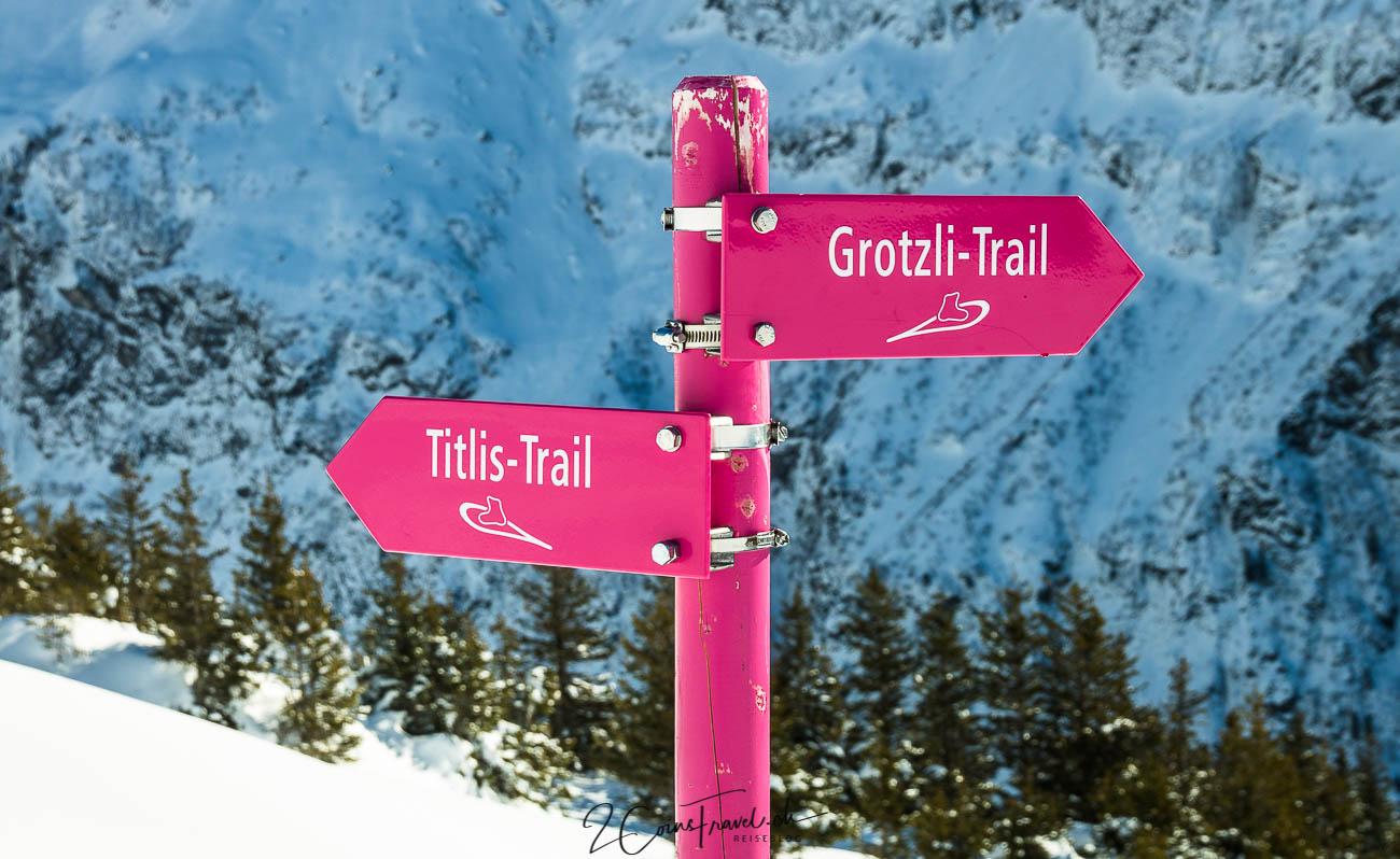 Grotzli und Titlis Trail