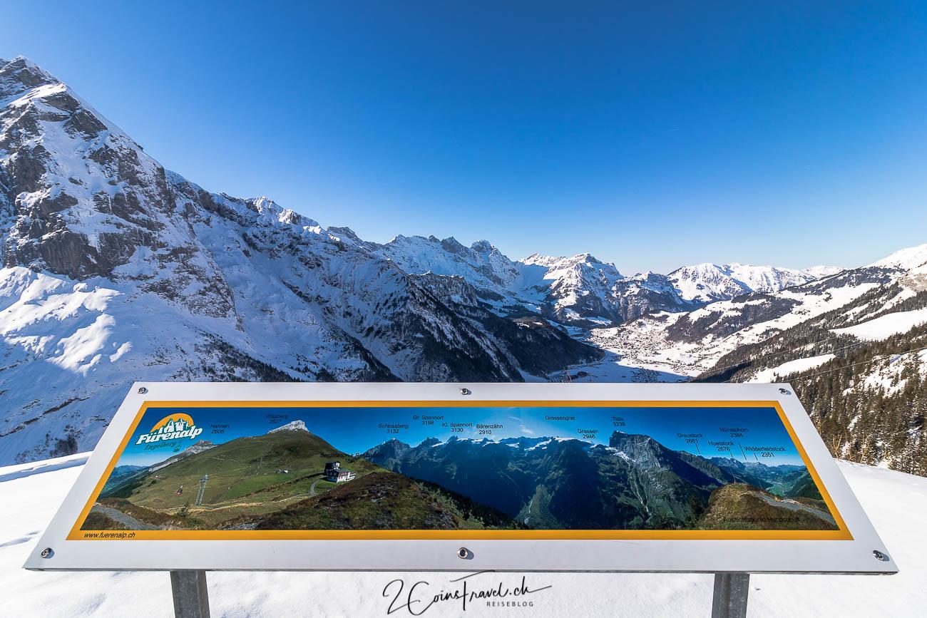 Aussichtspunkt mit Panoramatafel