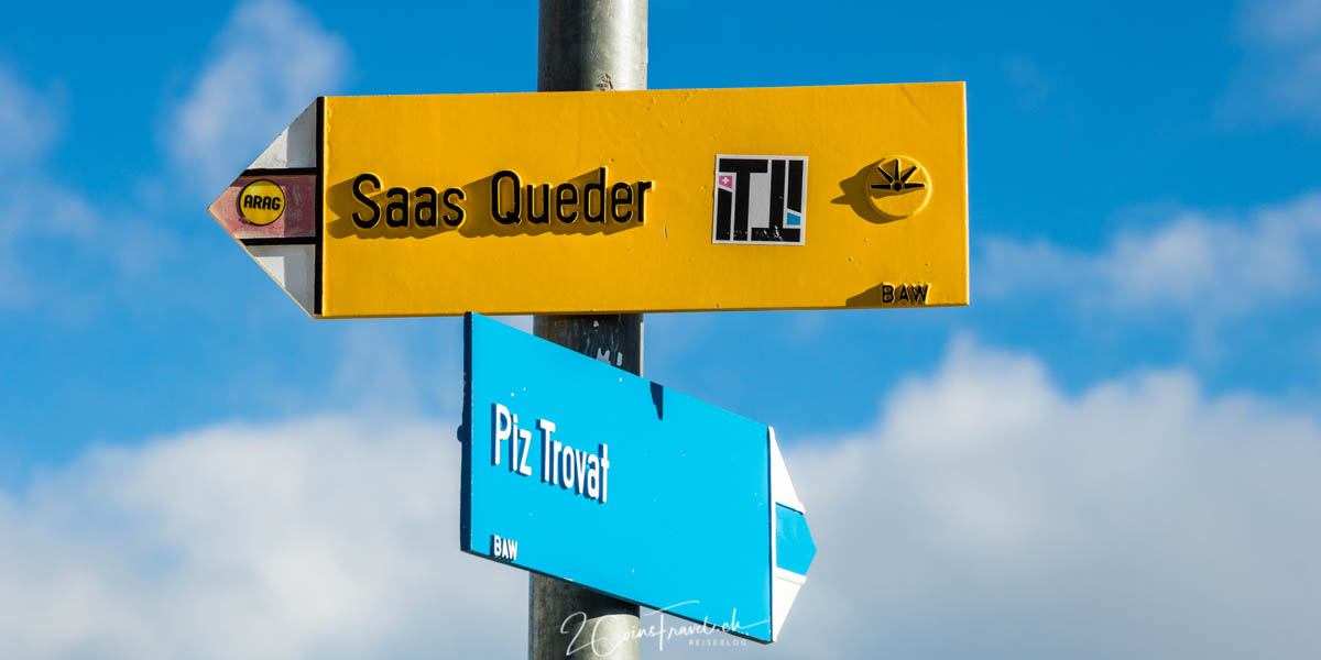 Wanderweg Sass Queder