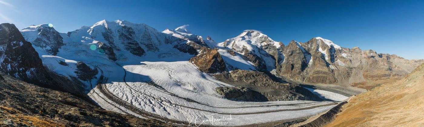 Panorama vom Persgletscher