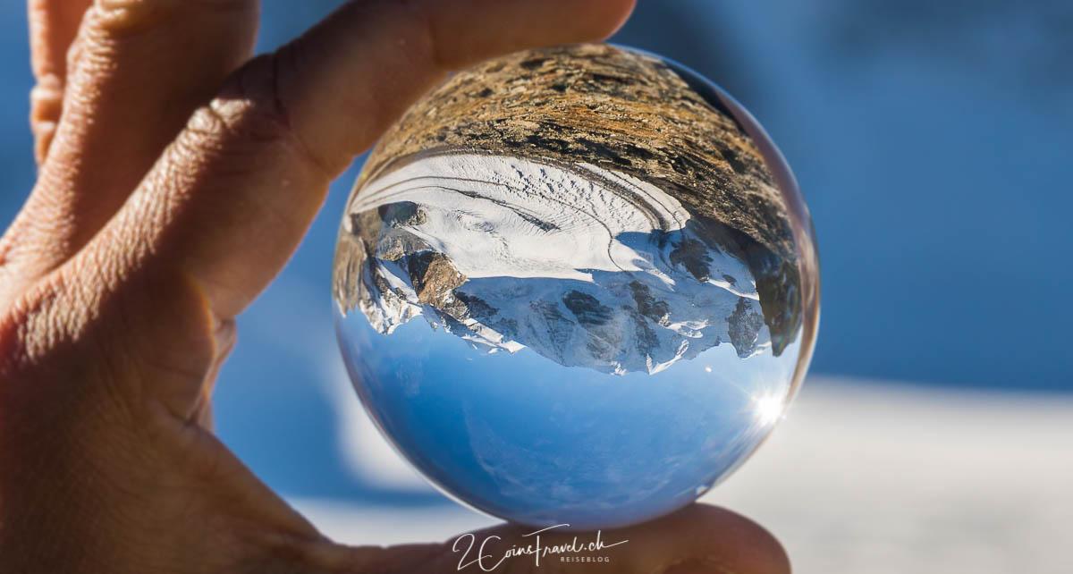 Lensball Aufnahme Persgletscher