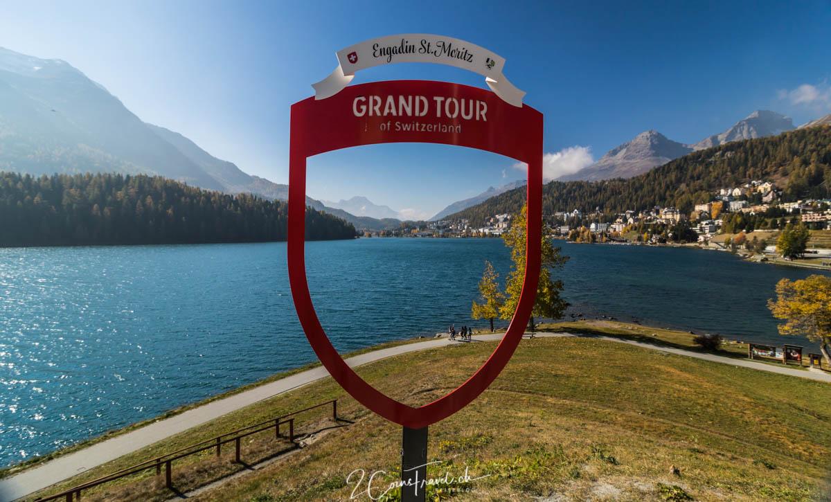 Grand Tour of Switzerland Fotospot St Moritz
