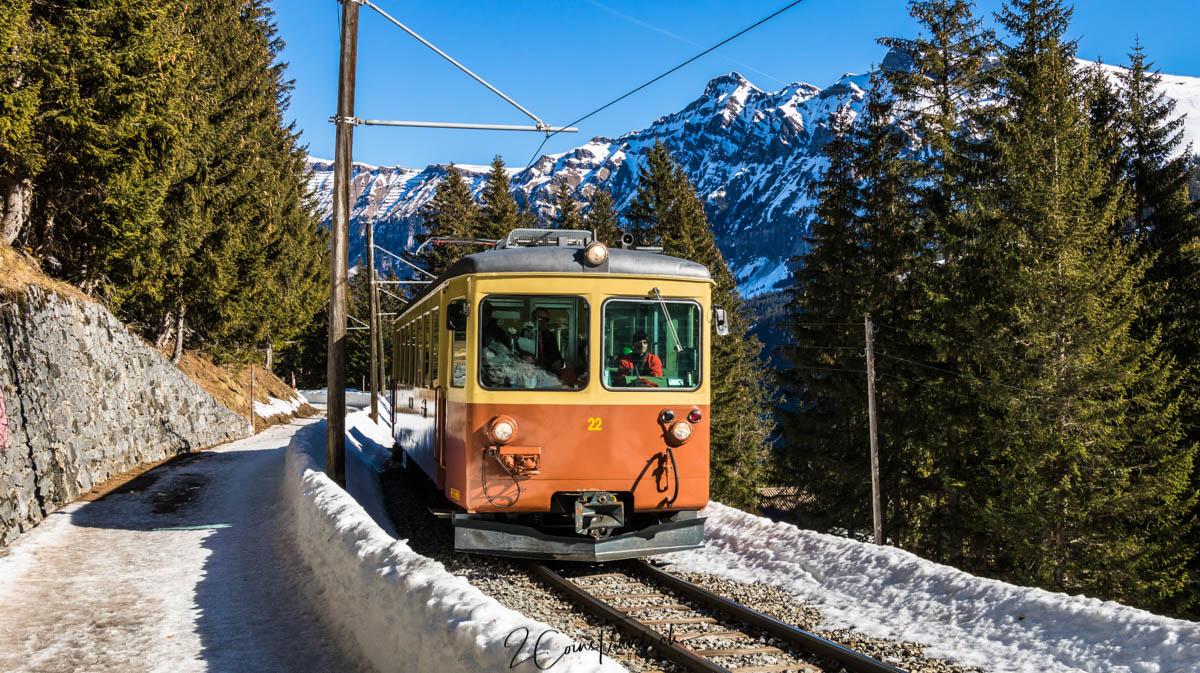 Bahn Grütschalp Mürren