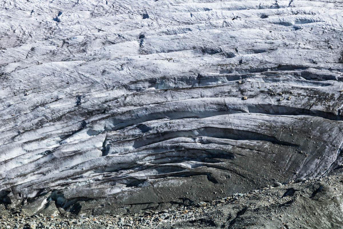Gletscherspalten Morteratschgletscher