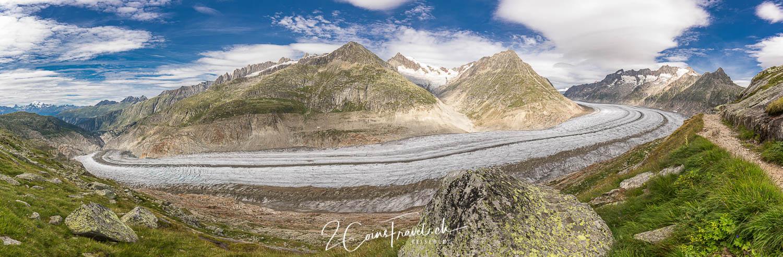 Aletschgletscher Panorama