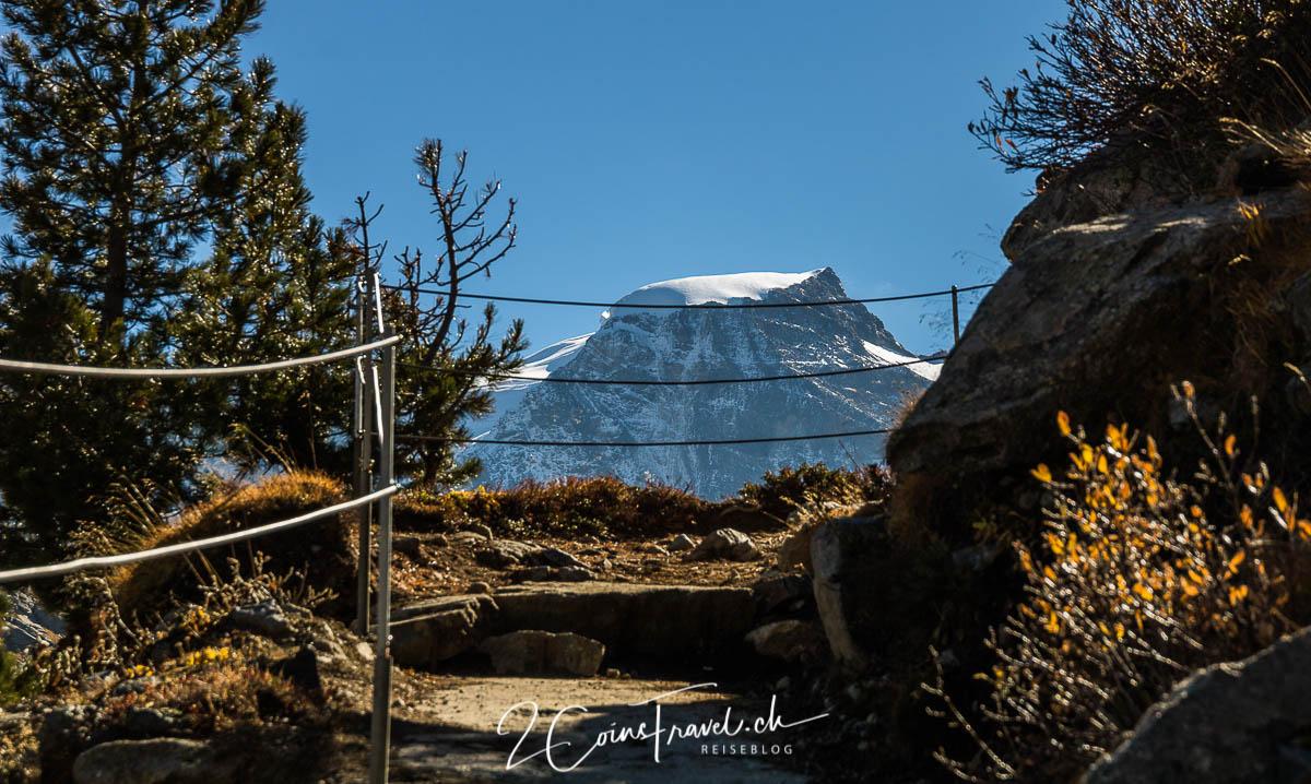 Wanderweg Bovalhütte
