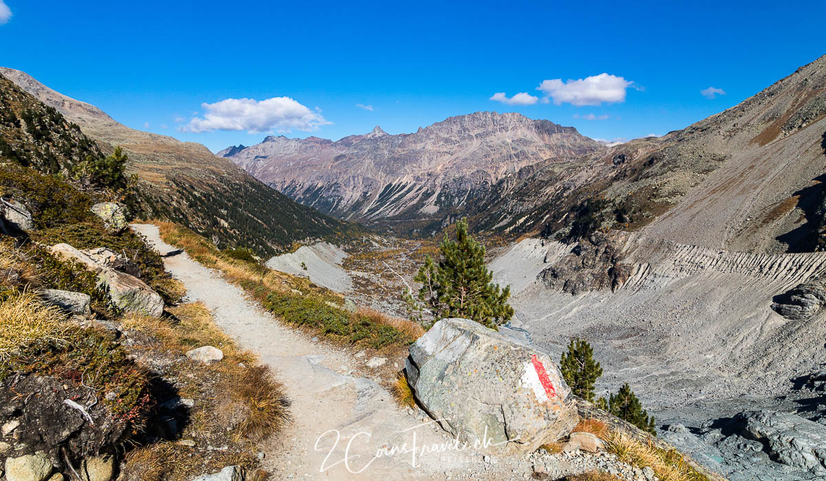Wanderweg Morteratsch