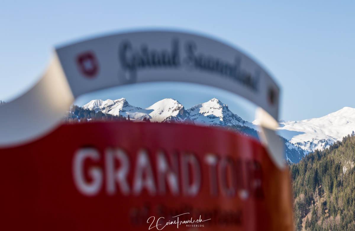 Grand Tour of Switzerland Foto Spot Gstaad