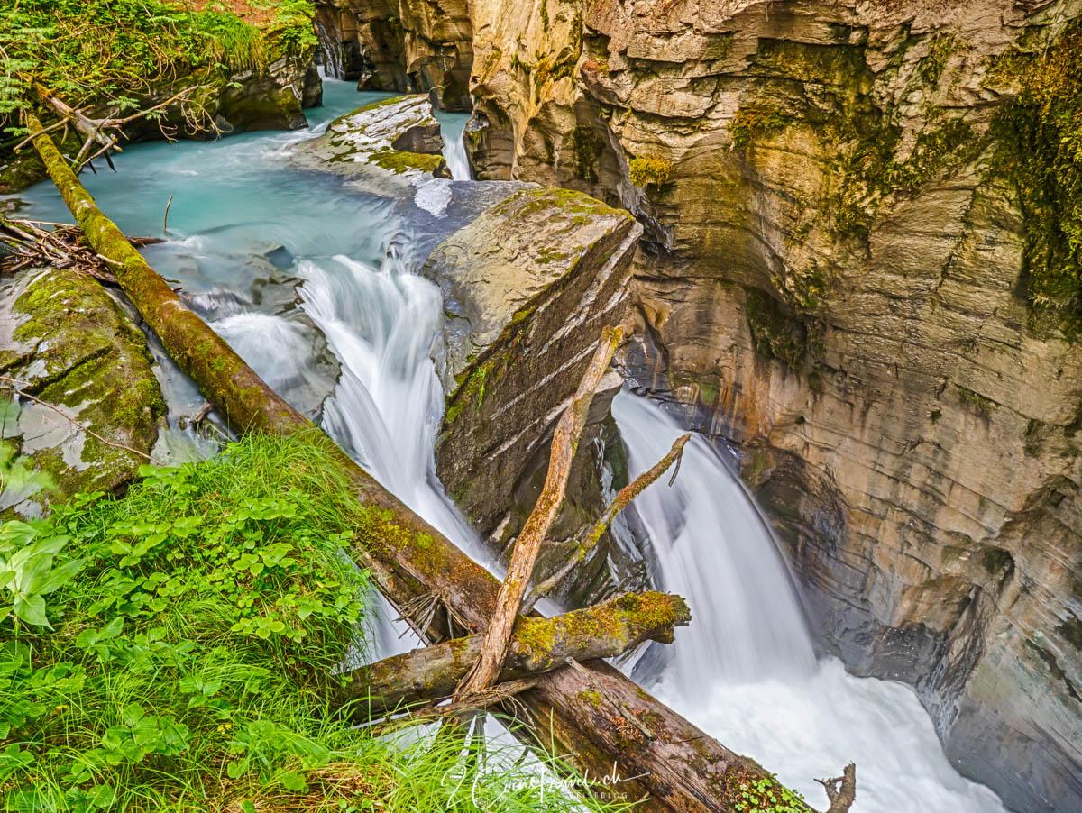 Wasserfall am Fluss Flem bei Flims