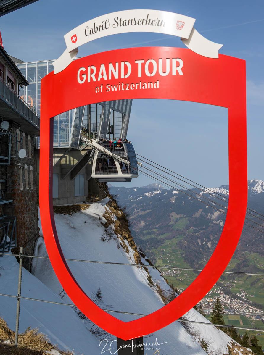 Grand Tour of Switzerland Foto Spot Stanserhorn
