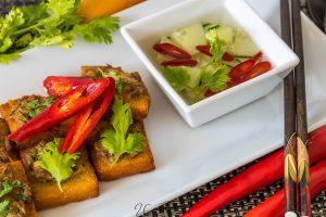 Kanom Pang Nar Moo - ขนมปังหน้าหมู