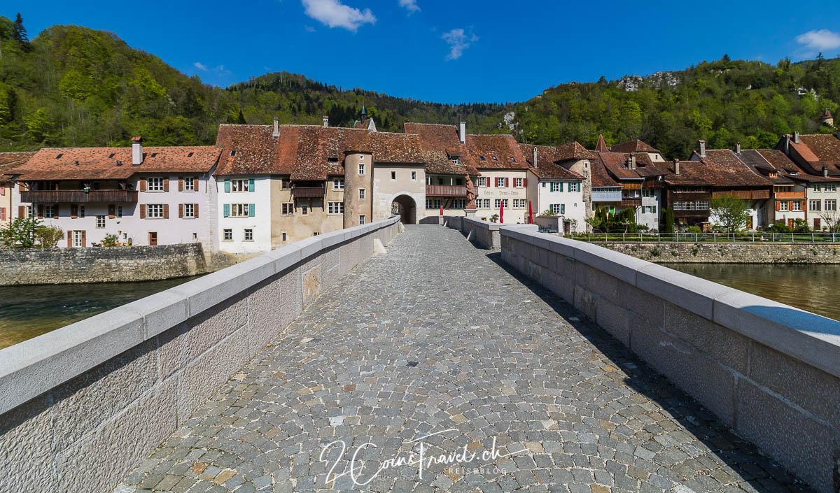 Brücke Saint Ursanne