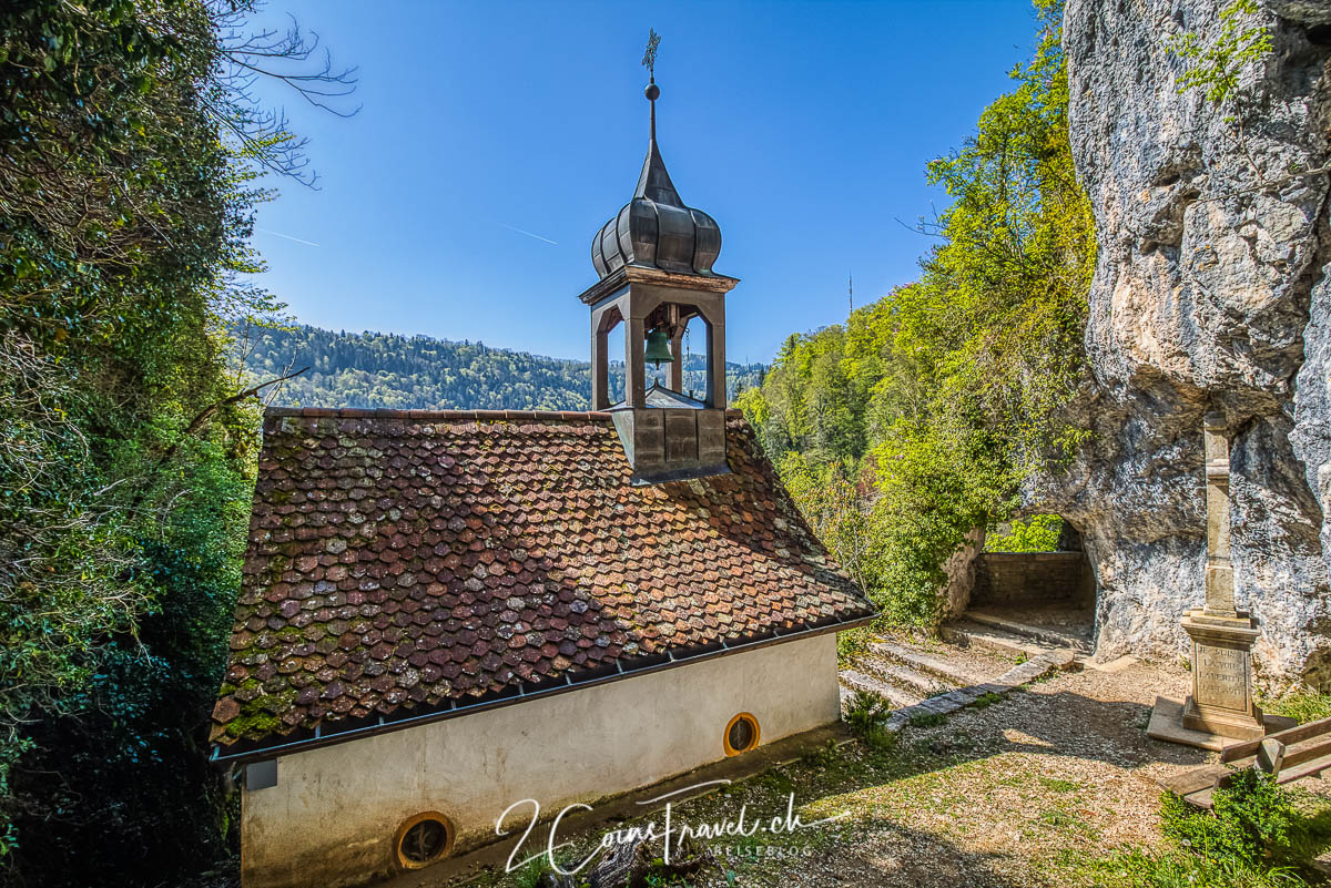Kapelle oberhalb Saint Ursanne