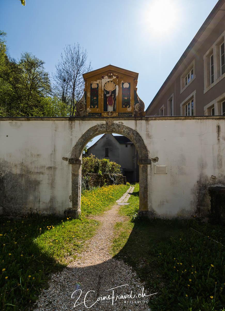 Weg zur Ermitage Saint Ursanne