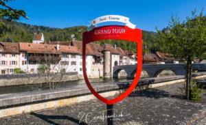 Grand Tour of Switzerland Foto Spot Saint Ursanne