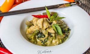 Gang Kiaw Wan Look Chin Pla Krai - แกงเขียวหวานลูกชิ้นปลากราย