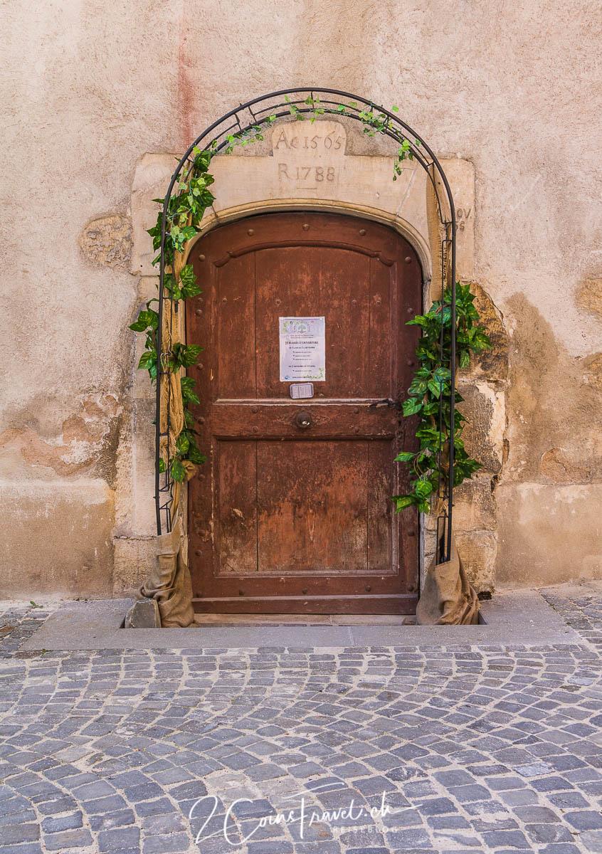 Geheimnissvolle Tür
