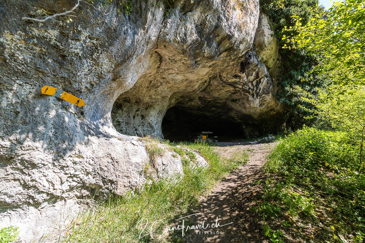 Höhle bei Saint Ursanne