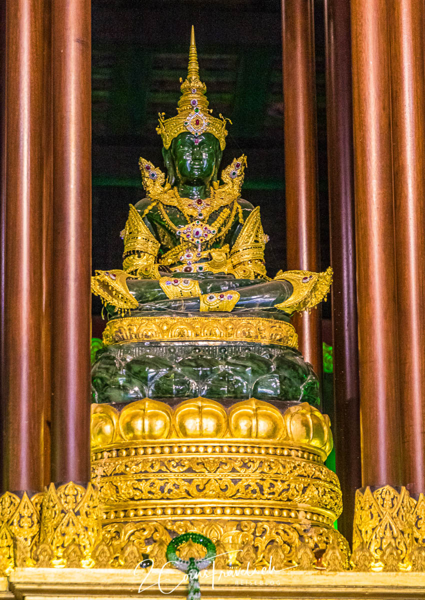 Smaragd Buddha Wat Phra Kaew Chiang Rai