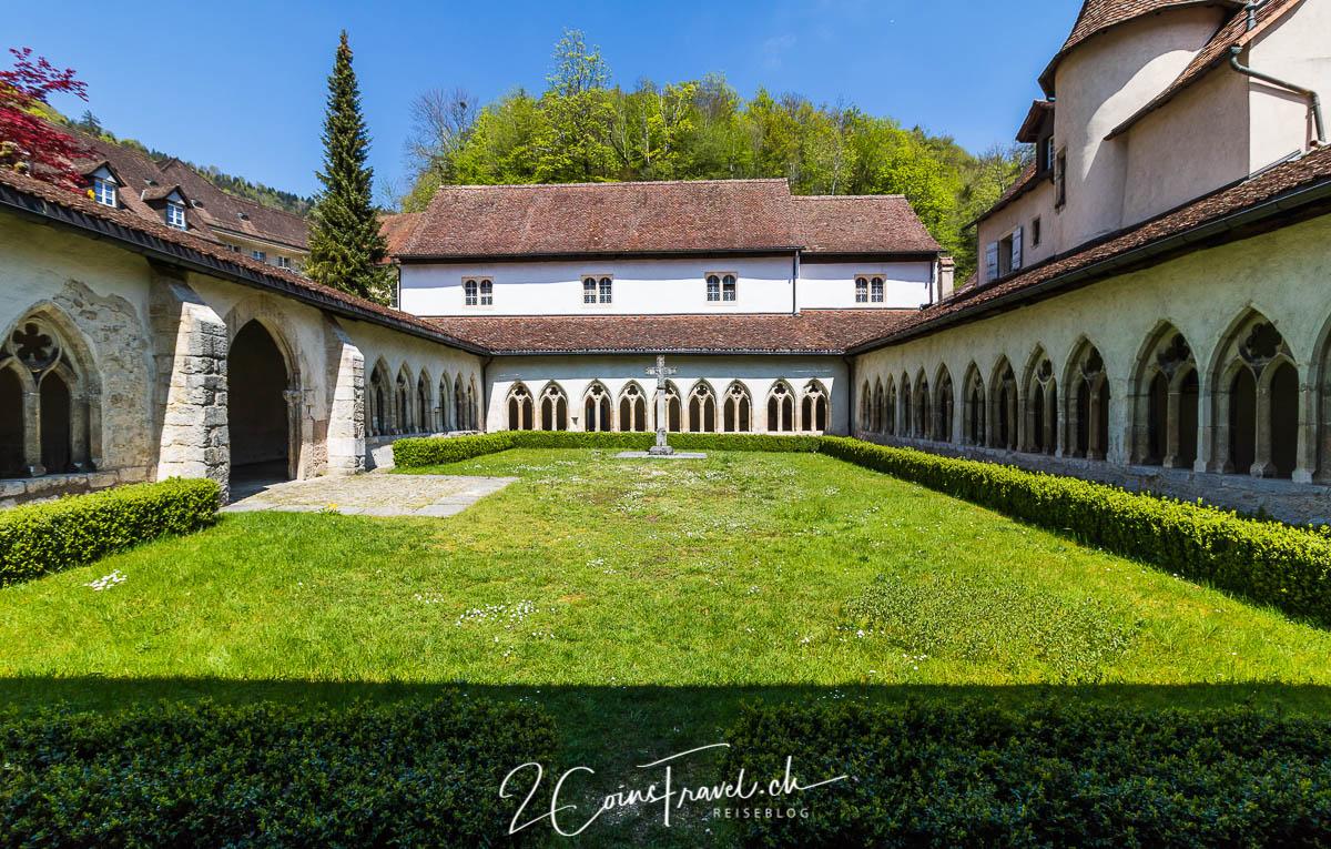 Klostergarten in Saint Ursanne