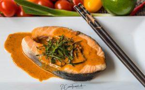 Panang Pla Salmon