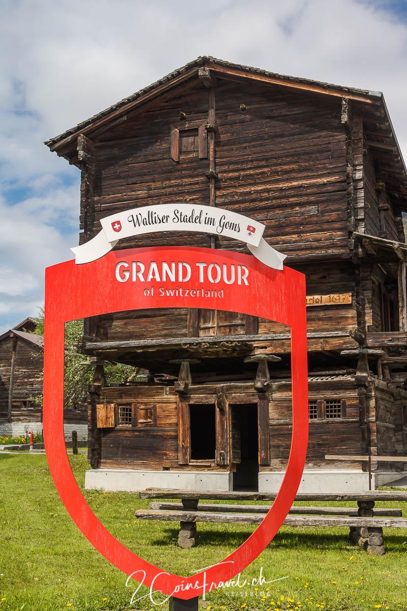 Grand Tour of Switzerland Goms