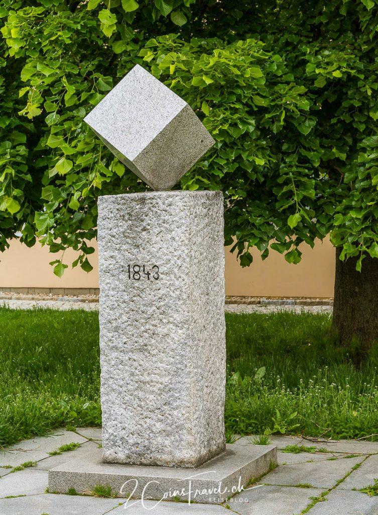 Würfelzucker Denkmal