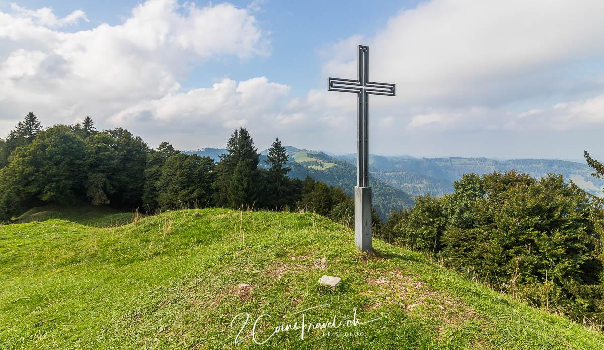 Gipfelkreuz Chrüzegg