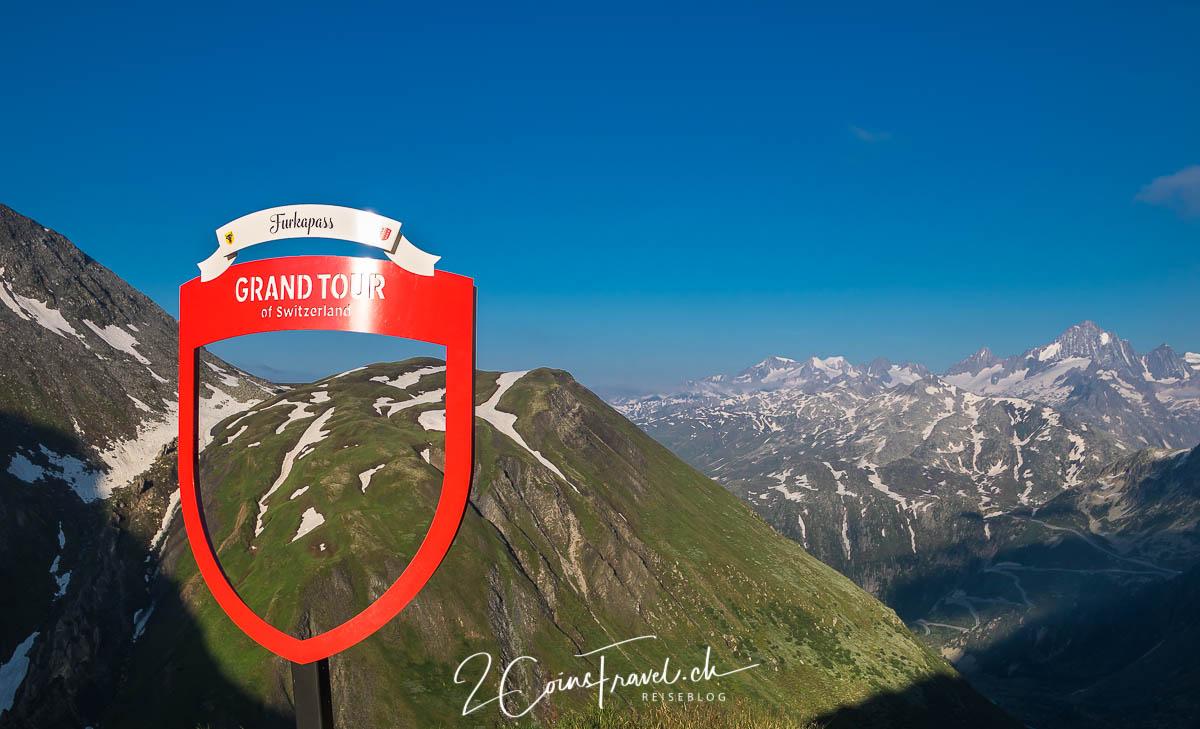 Grand Tour of Switzerland Foto Spot Furkapass