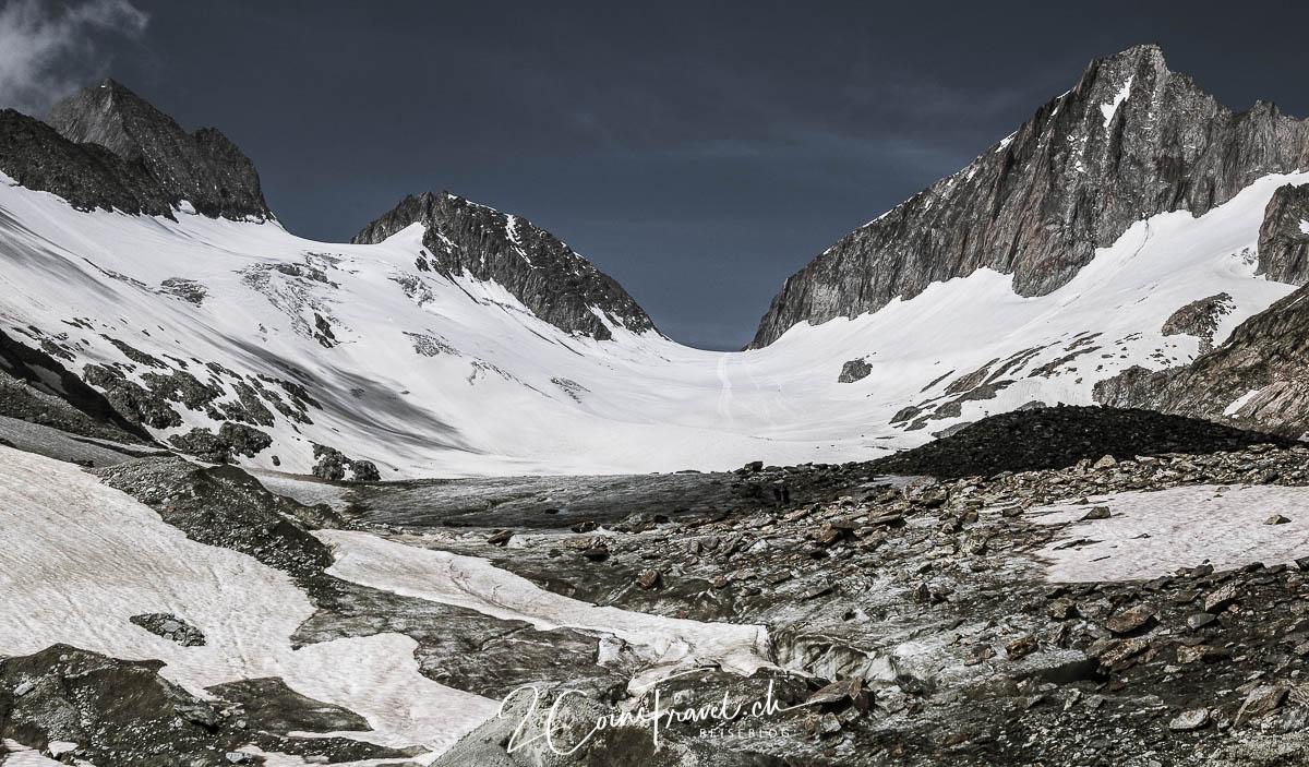 Blick über den Gletscher