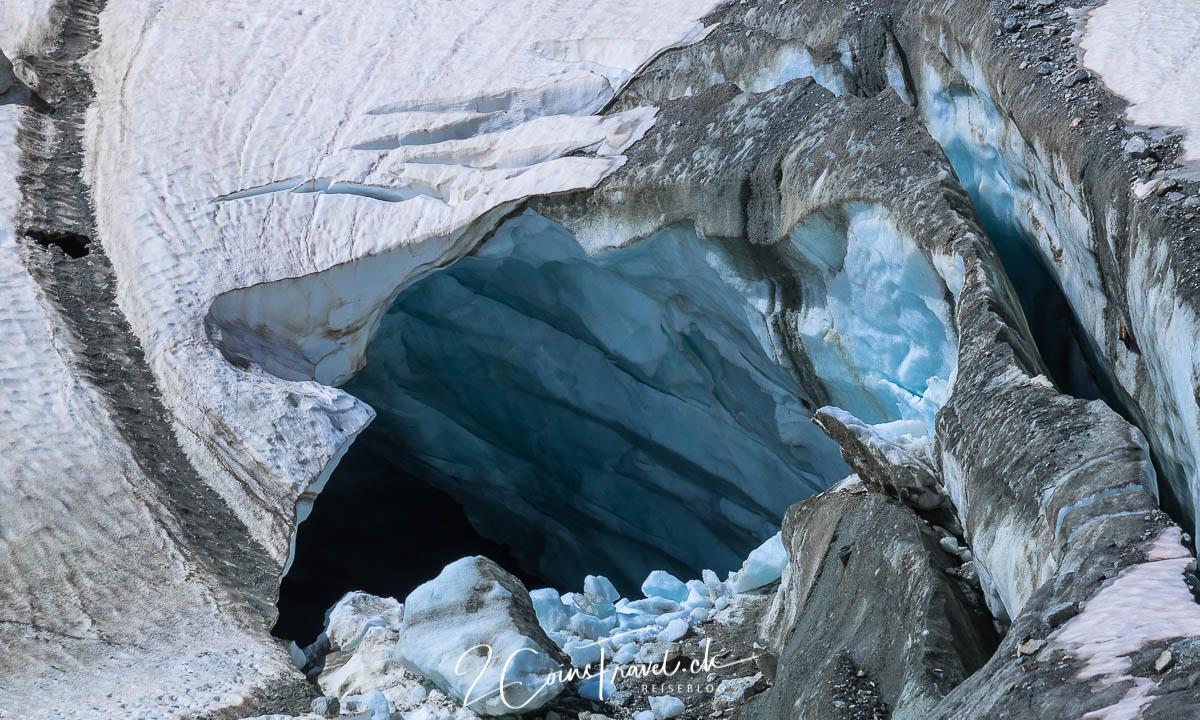 Eishölle am Oberaargletscher