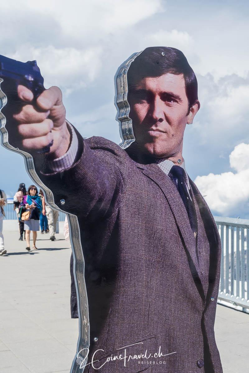 James Bond auf dem Schilthorn