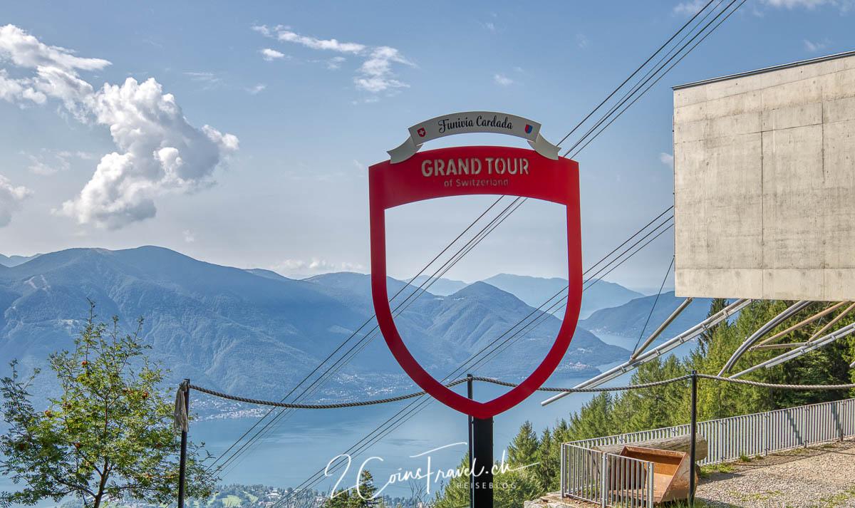 Grand Tour of Switzerland Foto Spot Cardada