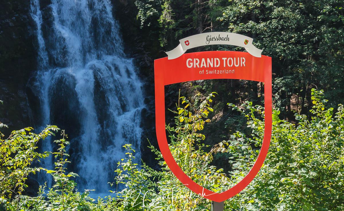 Grand Tour of Switzerland Foto Spot Giesbach