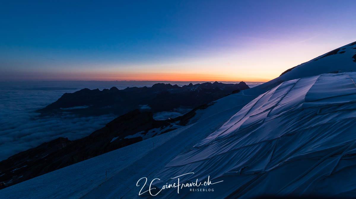 Titlis Sonnenaufgang