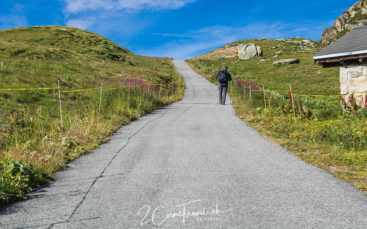 Vati am Wandern