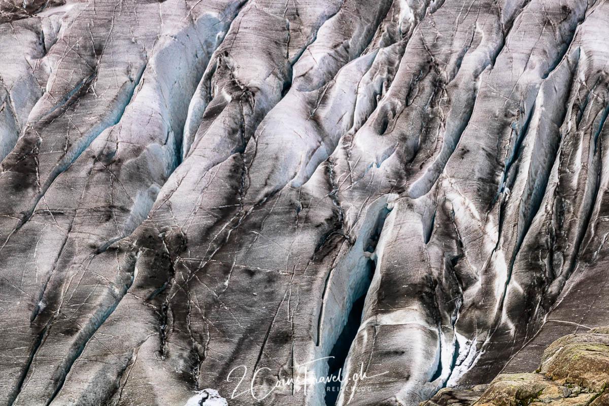 Gletscherspalten Aletsch