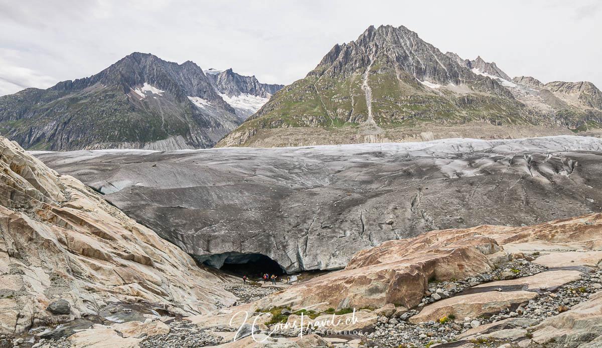 Gletscher Höhle