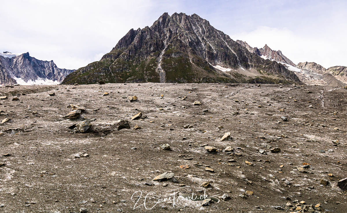 Gletscher Oberfläche