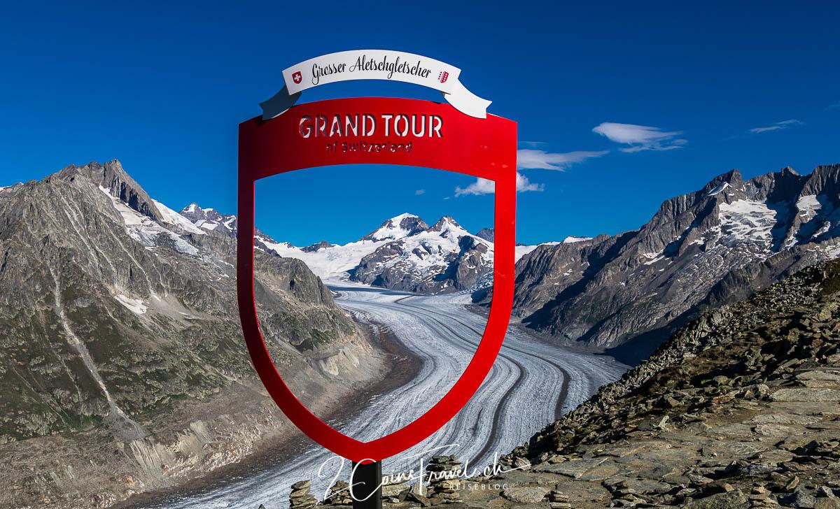 Grand Tour of Switzerland Foto Spot Aletschgletscher