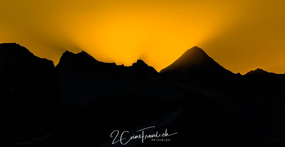 Plaine Morte Sonnenaufgang