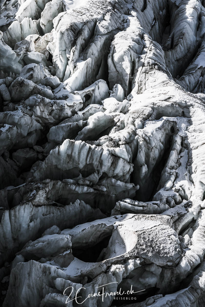 Gletscherspalten Steinlimigletscher