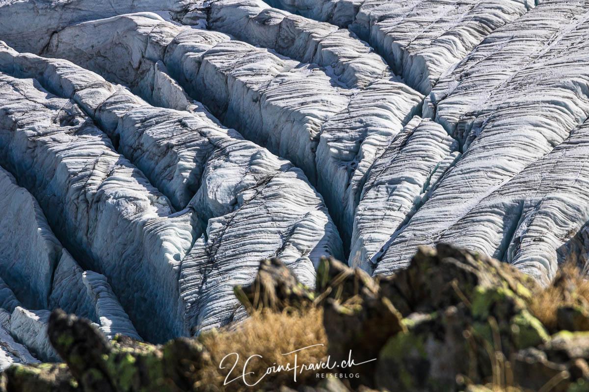 Gletscherspalten Steingletscher