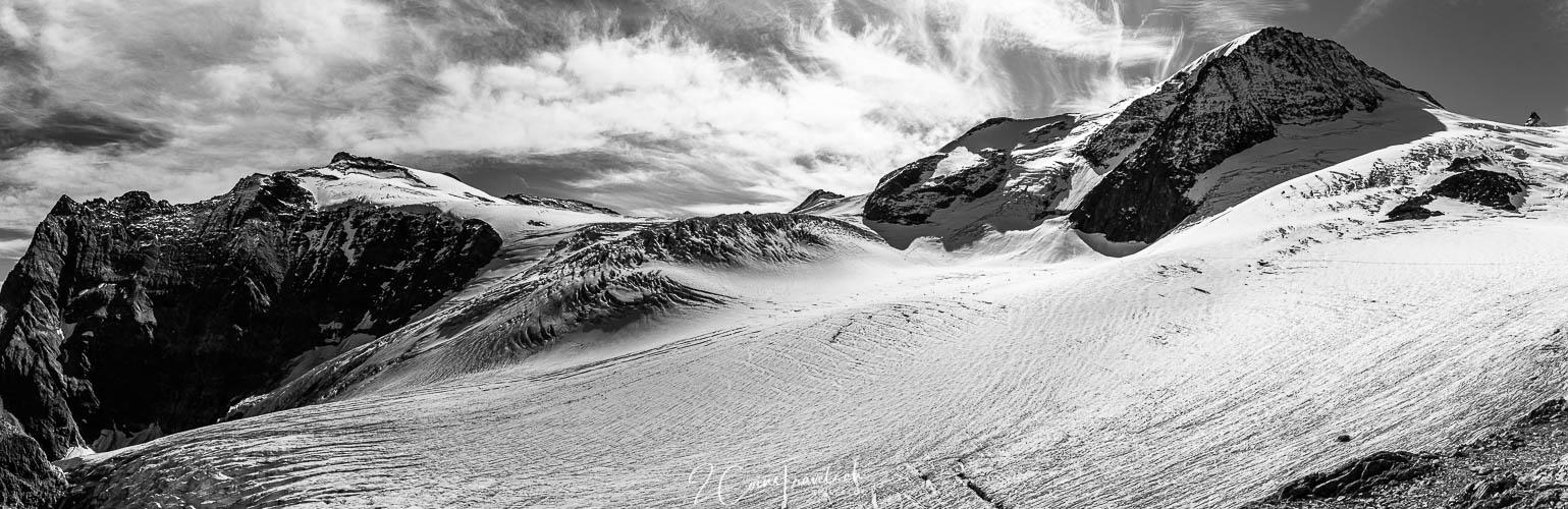 Panorama Steigletscher